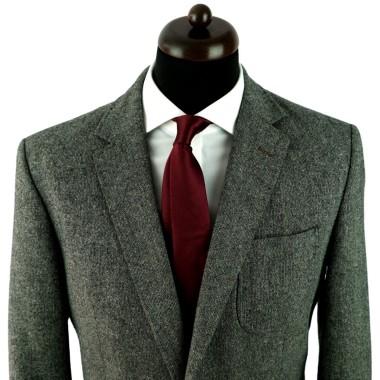 Cravate homme de marque Ungaro. Bordeaux uni