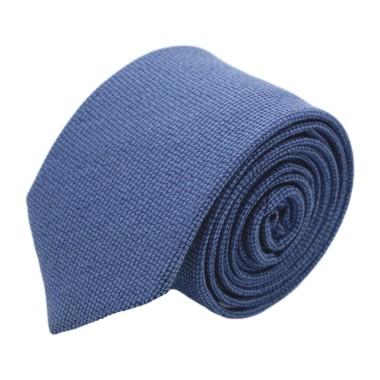 Cravate homme de marque Ungaro. Bleu en laine et soie