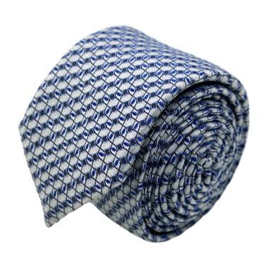 Cravate homme de marque Ungaro. Blanc à motifs fantaisie