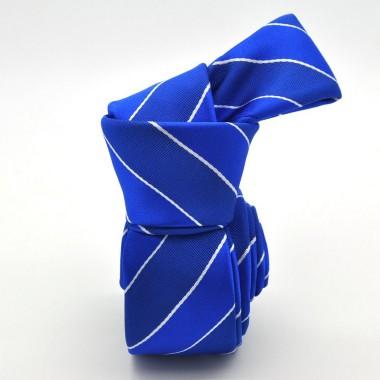 Bleu Roi à rayures