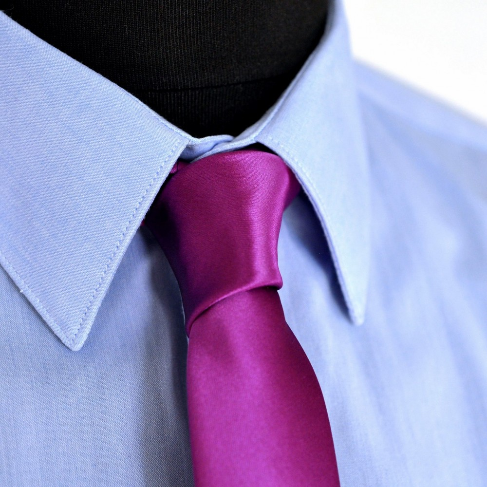 cravate slim homme violet byzantin fine et pas cher. Black Bedroom Furniture Sets. Home Design Ideas