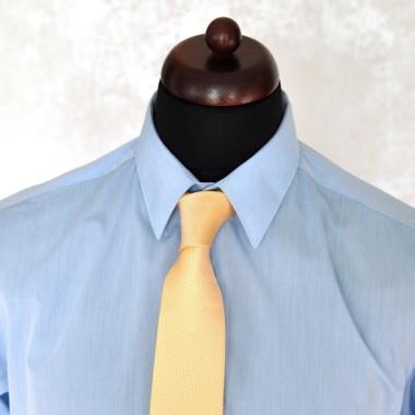 Cravate Homme Attora. Jaune uni