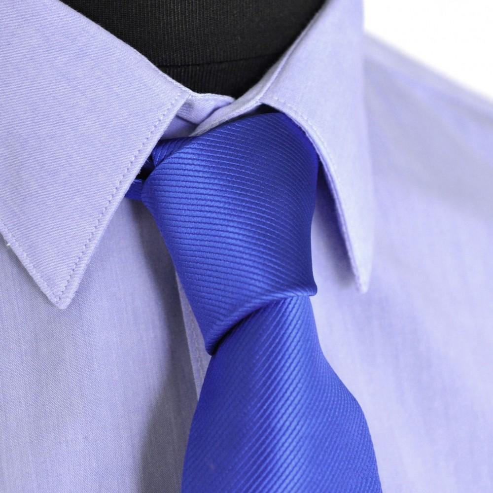cravate homme bleu roi stri classique et pas cher. Black Bedroom Furniture Sets. Home Design Ideas