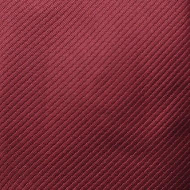 Coffret cravate, pochette, boutons de manchette et pince à cravate assortis. Bordeaux