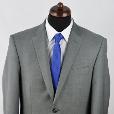 Cravate Slim homme bleue à motifs. Attora