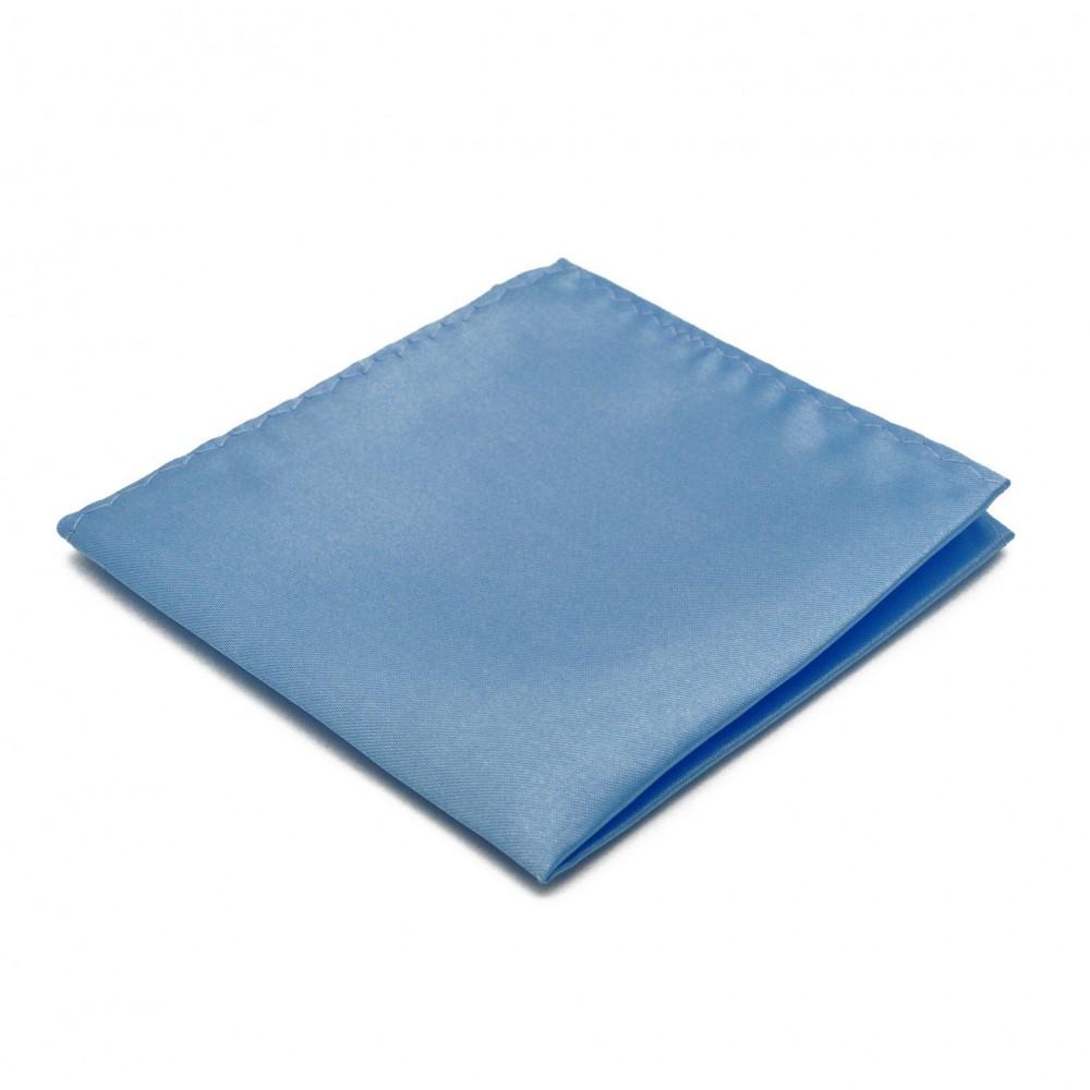 pochette de costume en soie bleu cieluni qualit et pas cher. Black Bedroom Furniture Sets. Home Design Ideas