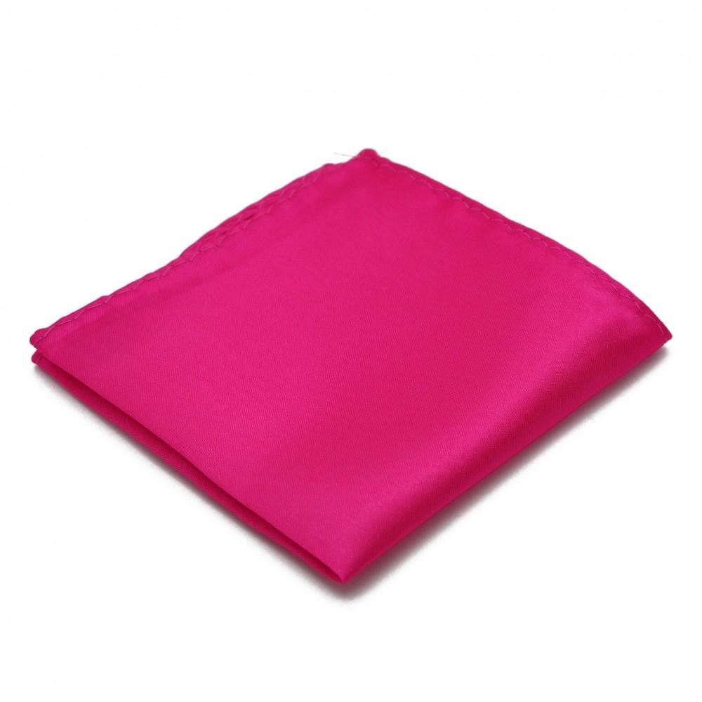 pochette de costume en soie fuchsia uni qualit et pas cher. Black Bedroom Furniture Sets. Home Design Ideas