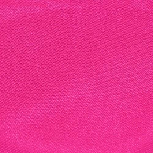 Pochette de costume. Fuchsia uni, en soie.