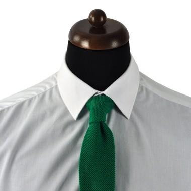 Cravate Enfant Vert en tricot.
