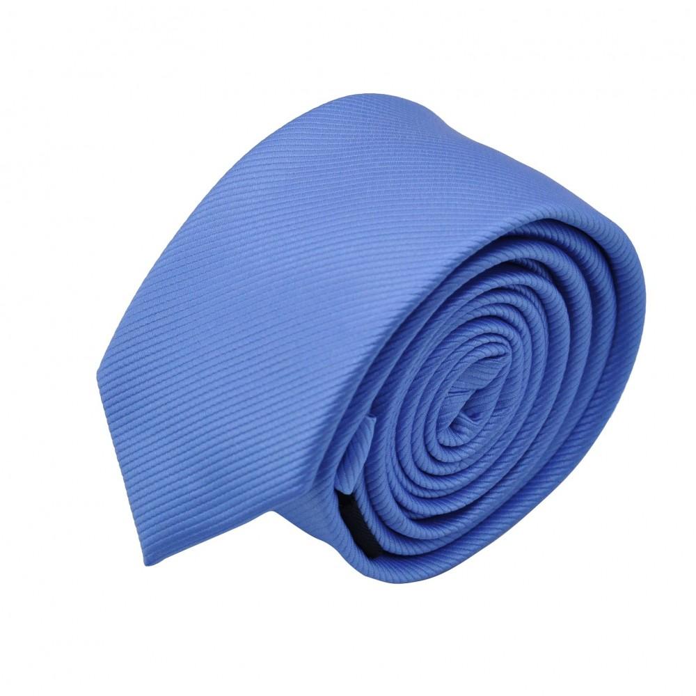 Cravate Slim homme Bleu ciel lavande