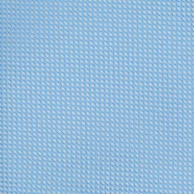 Cravate Slim Homme. Très fin quadrillage Bleu Ciel