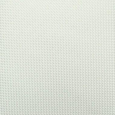Cravate Slim Homme. Très fin quadrillage Blanc