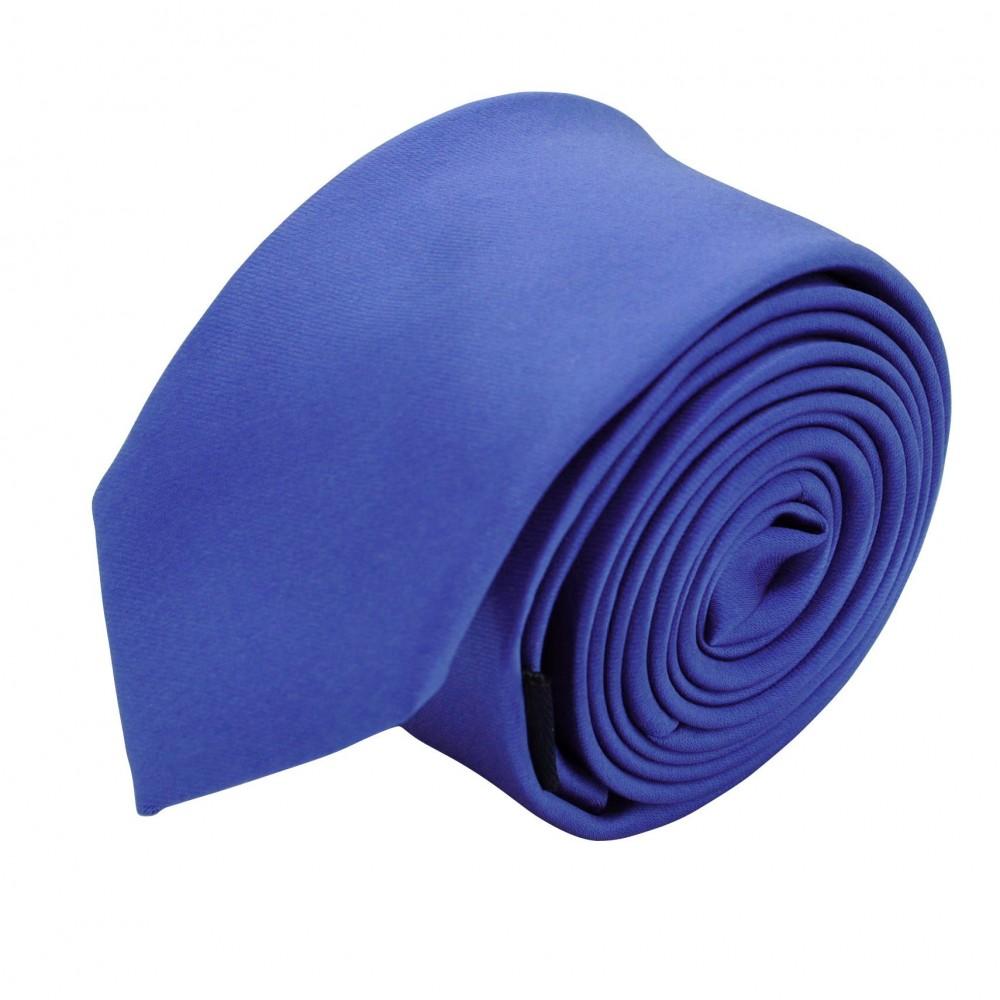 Cravate Slim Homme. Uni Bleu Lavande