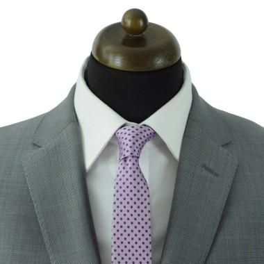 Cravate Slim Homme. Parme à pois
