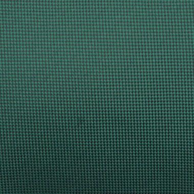 Cravate Classique Homme. Très fin quadrillage Vert bouteille