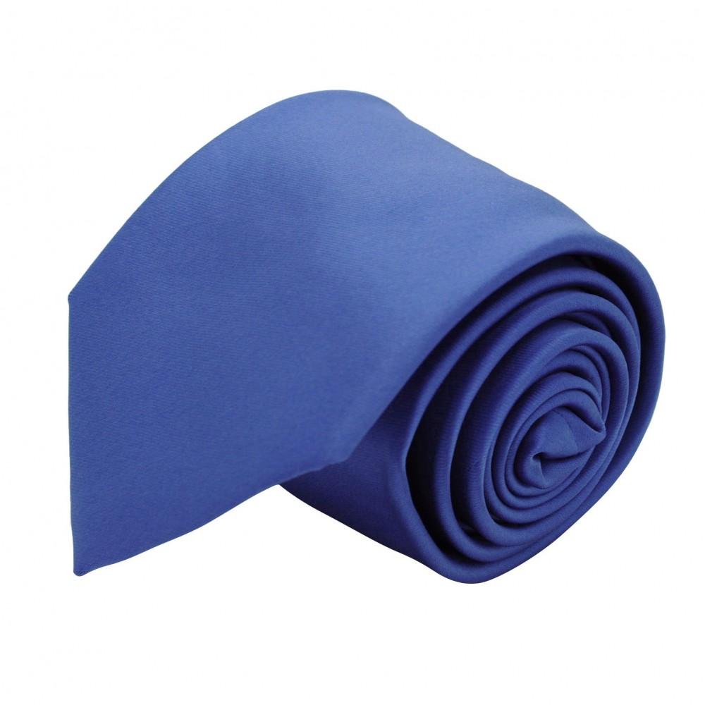 Cravate Classique Homme. Uni Bleu Lavande