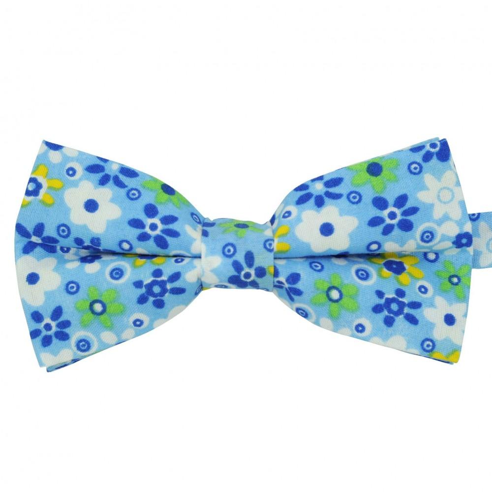 Noeud papillon 'Liberty' Bleu coloré
