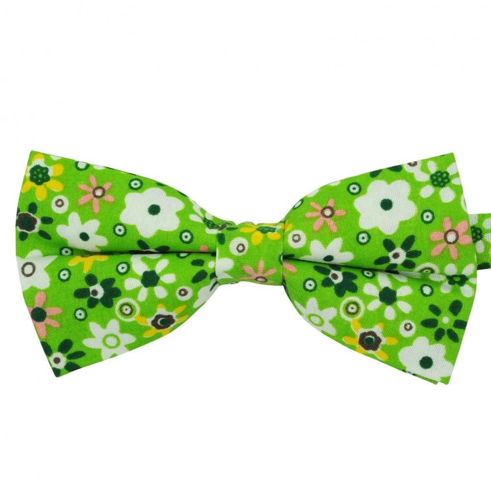 Noeud papillon 'Liberty' Vert coloré