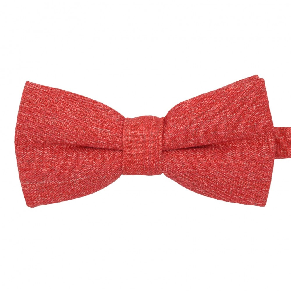 Noeud papillon homme Rouge chiné