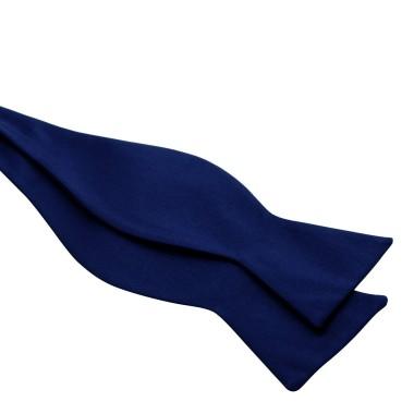 Noeud papillon homme à nouer. Bleu marine