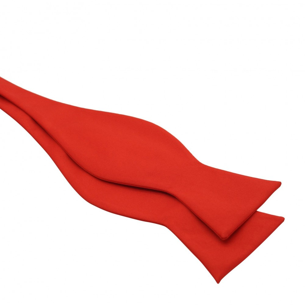 Noeud papillon homme à nouer. Rouge