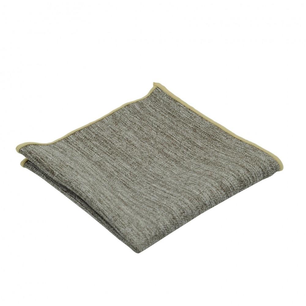 pochette de costume homme marron chin liseret beige 1721. Black Bedroom Furniture Sets. Home Design Ideas