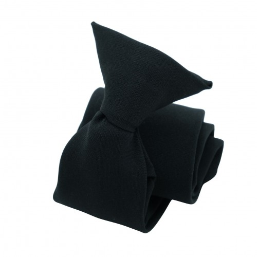 Cravate sécurité à clip anti-étranglement. Bleu foncé